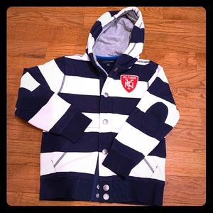 Tommy Hilfiger Hooded Sweatshirt with snaps